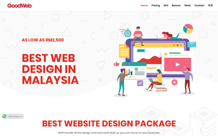 Goodweb | Website Design Agency in Malaysia