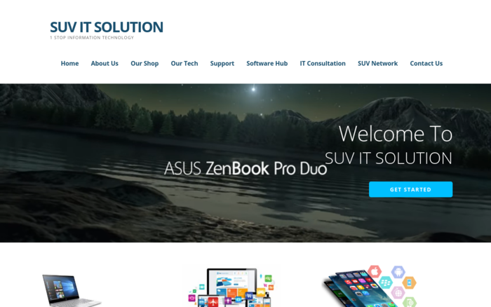 SUV IT SOLUTION – 1 STOP INFORMATION TECHNOLOGY