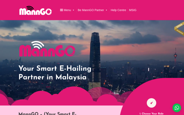 MannGO (Your Smart E-Hailing Partner)