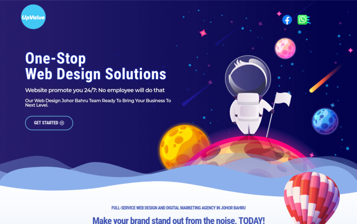 UPVALUE SOLUTIONS WEB DESIGN