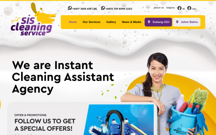 Sis Cleaning – Instant Cleaning Assistant Agency