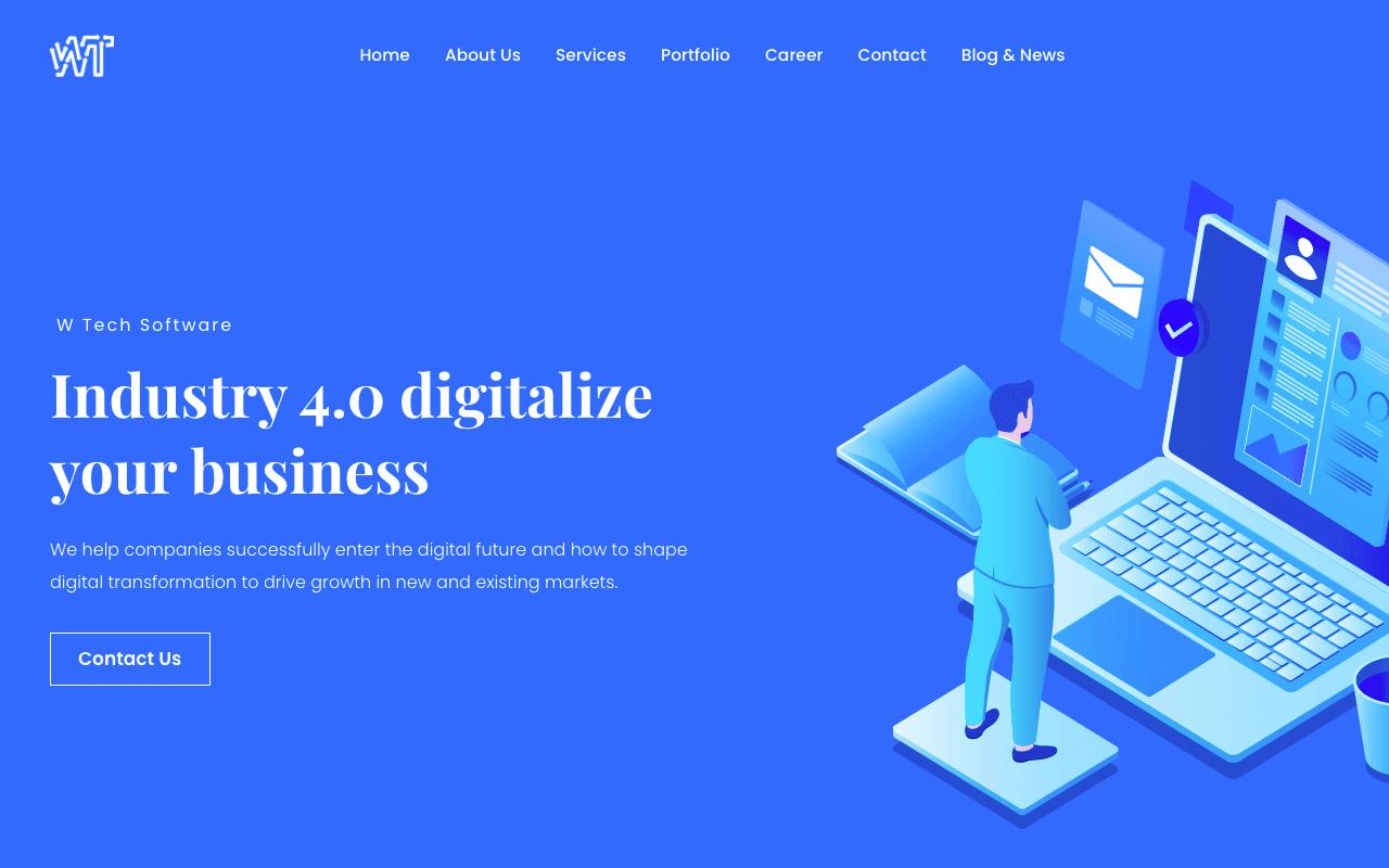 W Tech Software Company Malaysia