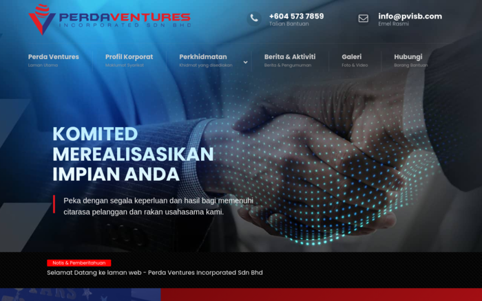 Perda Ventures Incorporated Sdn Bhd