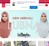 Labeyla Leading Instant Hijab in Asia